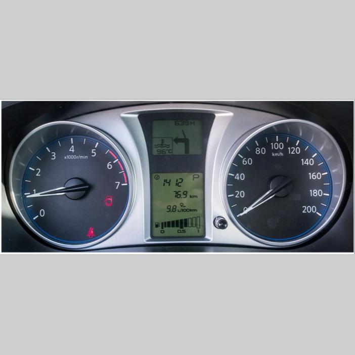 Комбинация приборов 2190-3801010-60 два дисплея