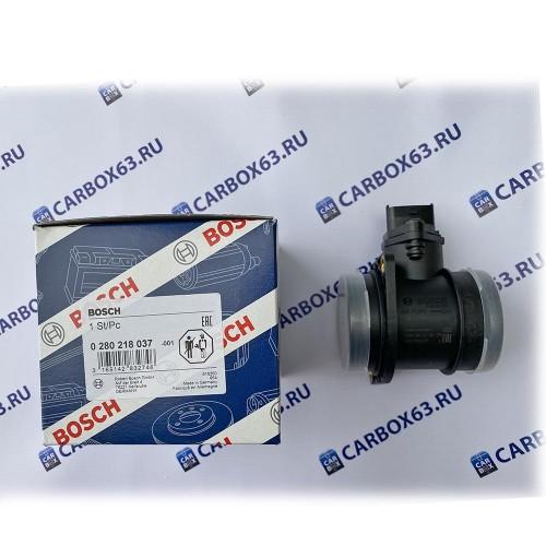 Датчик массового расхода воздуха ДМРВ Bosch 0 280 218 037